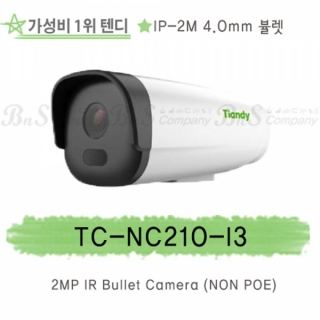 텐디 IP-2M (NON-POE)  TC-NC210-I3 (4.0mm) 30M IR